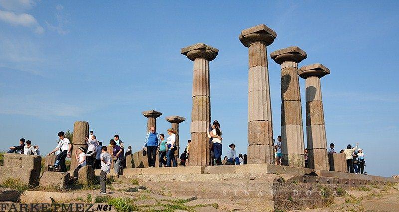 Çanakkale Gezilecek Yerler : Assos Antik Kenti