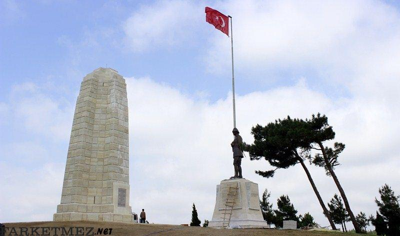 Çanakkale Gezilecek Yerler : Çanakkale Yeni Zelanda Anıtı