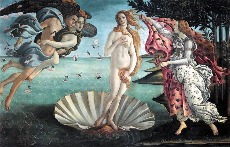 Birth of Venus - Botticelli