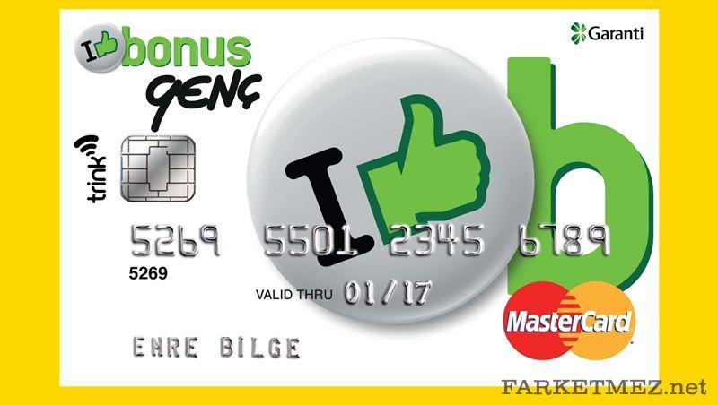 Garanti Bankası Bonus Genç