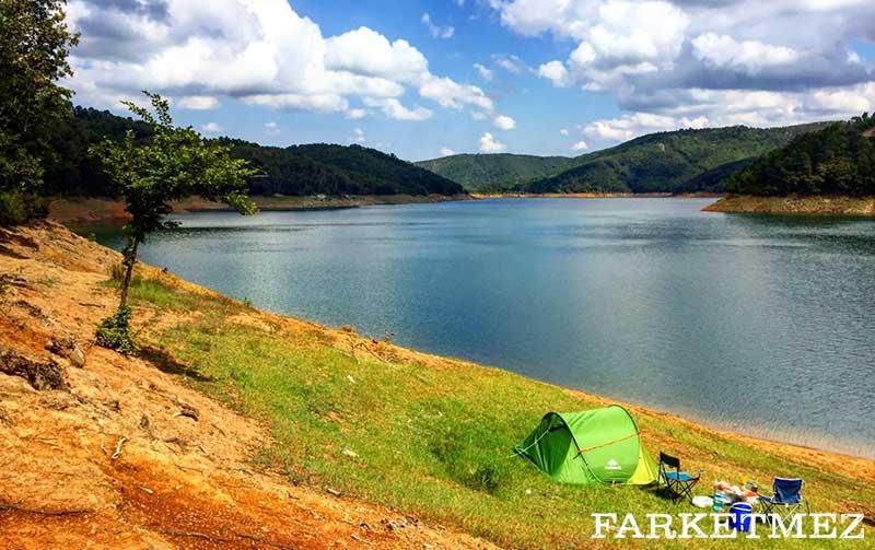 İstanbul Kamp Alanları : Şile Darlık Barajı