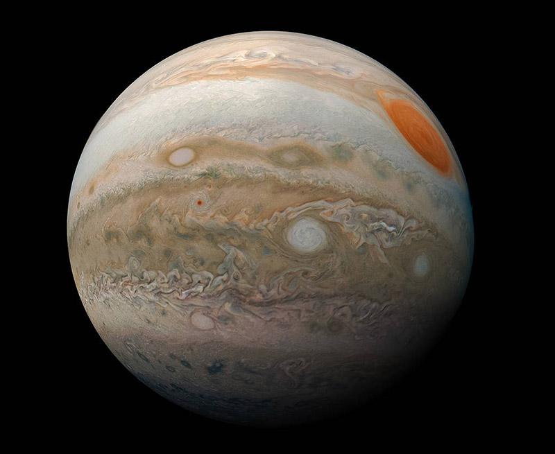 Güneş Sistemindeki Gezegenler - Jüpiter Gezegeni Özellikleri