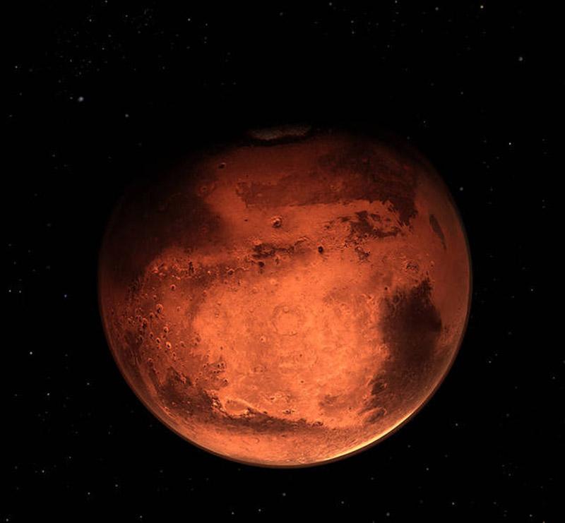 Güneş Sistemindeki Gezegenler - Mars Gezegeni Özellikleri