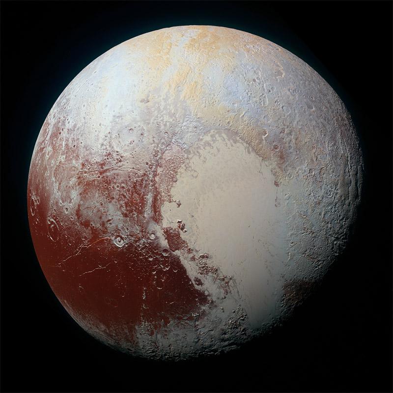Güneş Sistemindeki Gezegenler - Plüton Gezegeni Özellikleri